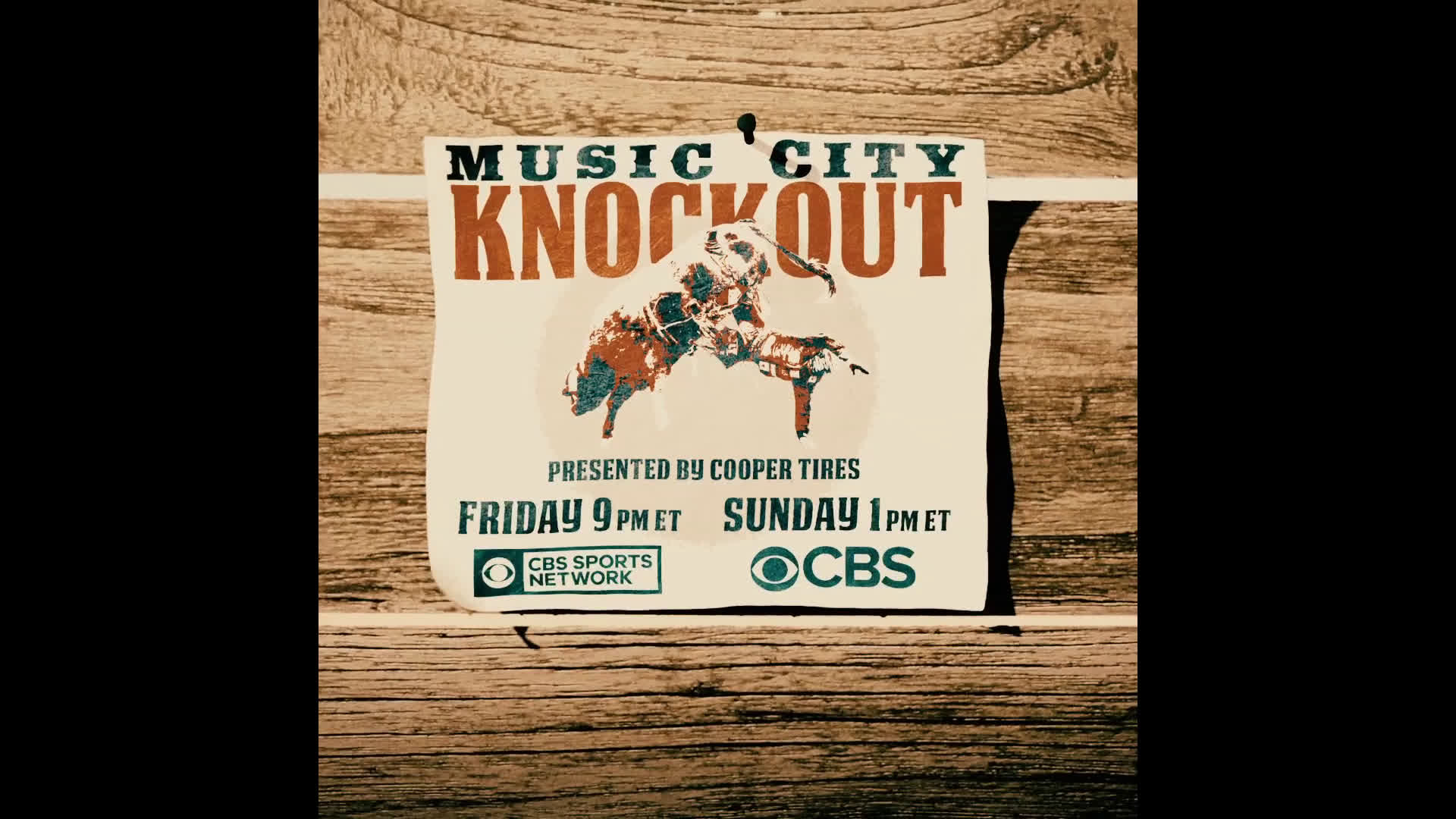 Catch the Music City Knockout on CBS