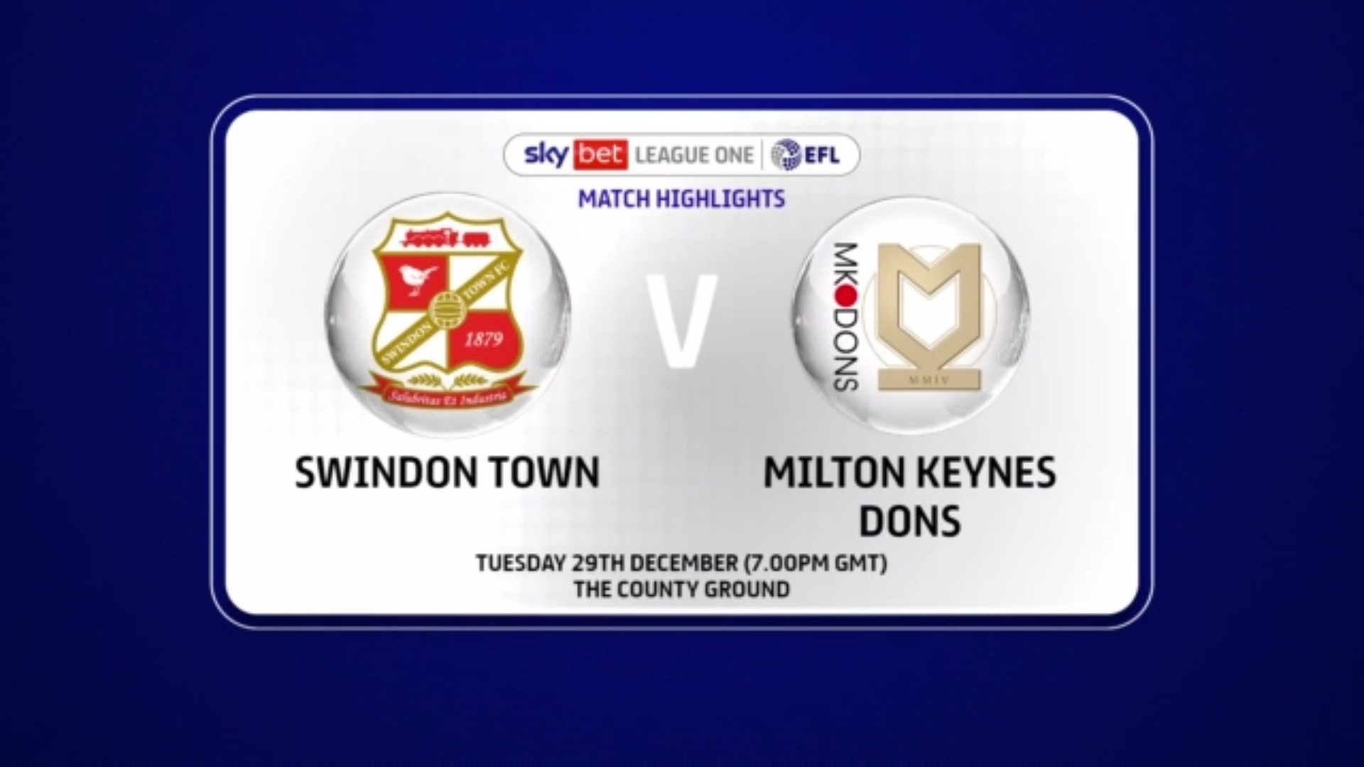 Mk dons v swindon betting trends over and under soccer betting predictions